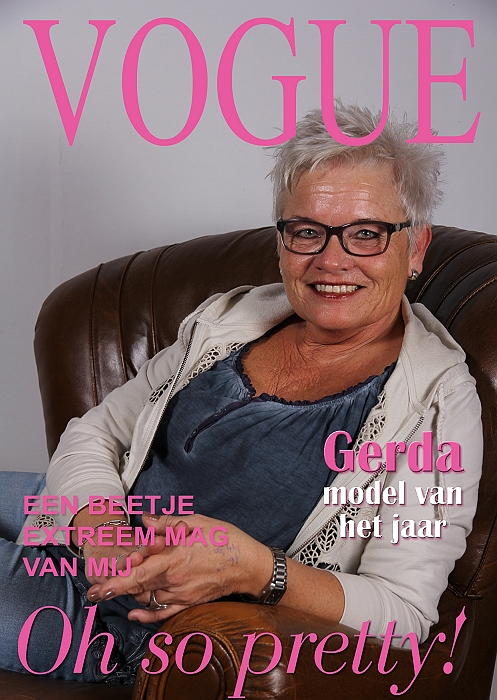 sized Cover VOGUE Gerda